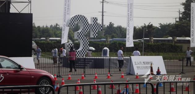 成都展览工厂搭建的宝马三系嘉年华活动现场