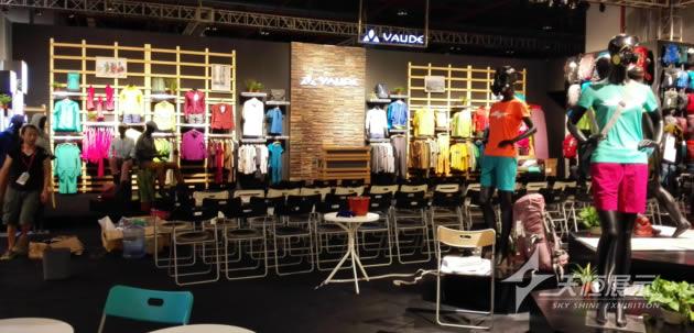 2015凯乐石kailas服装展既春夏订货会制作搭建